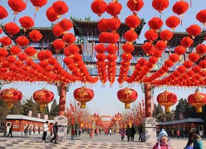 2014年北京地坛公园春节庙会