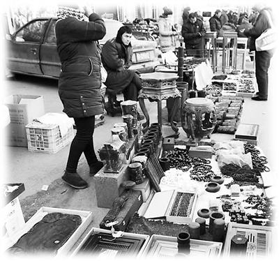 红木家具和古玩工艺品市场