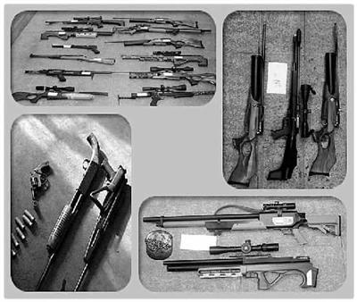揭秘枪支网上销售渠道 神秘群主销售 AKB47 组图