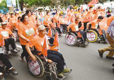 残疾人事业,温暖的人权行动(图)