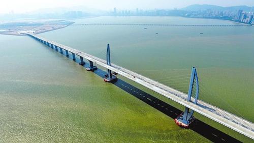 20日,澳门,港珠澳大桥全景资料图-盘点这些年中国超级工程 组图
