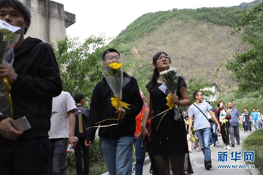 (社會)(1)北川老縣城十年祭