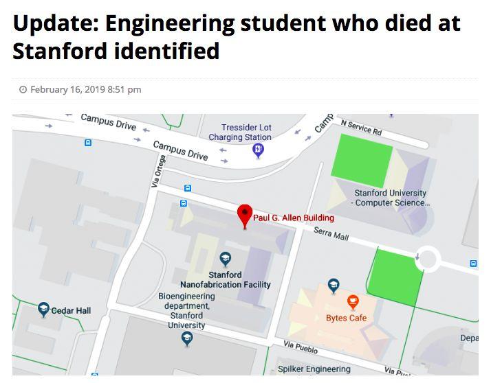 斯坦福26岁中国博士自杀!真实原因让大家都很揪心....
