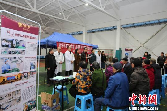 桂林市脑卒中高危人群筛查雨中启动 三千居民将获益