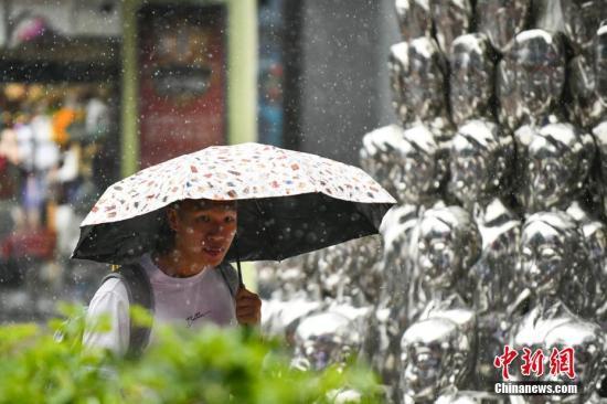中央气象台发暴雨蓝色预警 江南等地将有持续性强降水