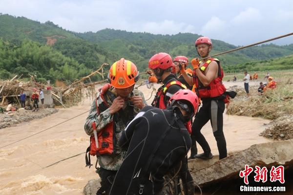 廣東連平縣因災死亡人數增至11人