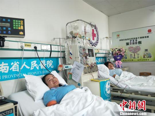 """河南5名志愿者同日捐""""生命种子""""献礼""""世界骨髓捐献者日"""""""