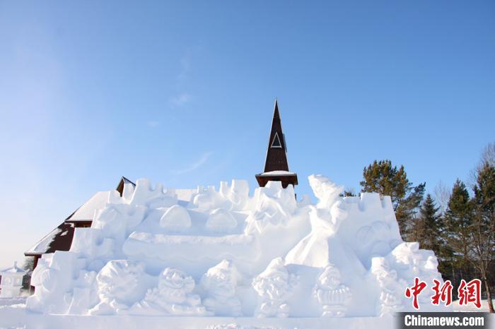 中国最北雪雕园20日开园