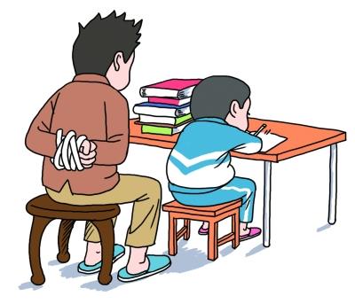 """期末陪娃复习能否不""""鸡飞狗跳""""?各方支招"""